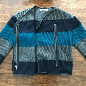 Bailey 44 - Wool blue jacket size small